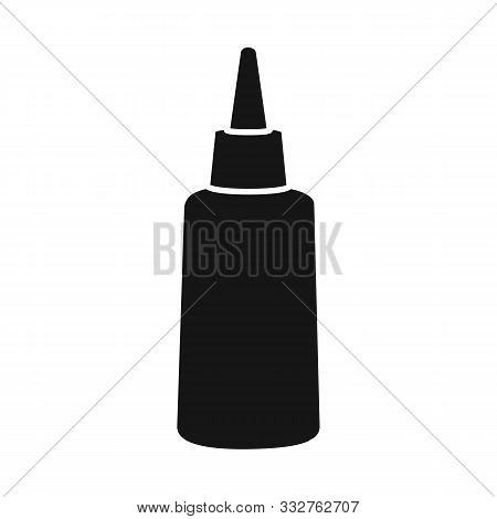 Vector Design Of Tube And Sealant Symbol. Web Element Of Tube And Super Vector Icon For Stock.