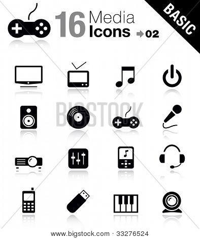 Basic - Media Icons