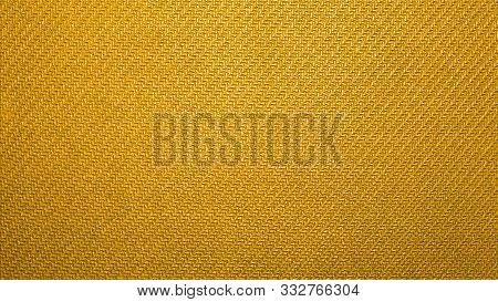Yellow Texture Of Binding Fabric.yellow Fabric Background.yellow Fabric. Background With A Textured