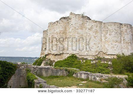 Gaillard Castle remains
