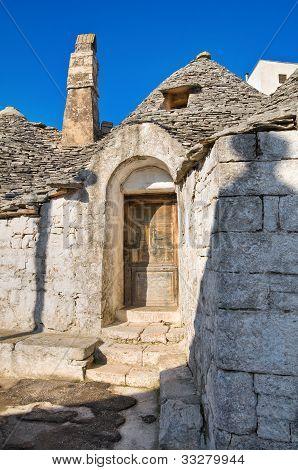 Alberobello's Trulli. Puglia. Italy.