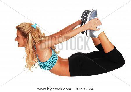 Gymnastic On The Floor.