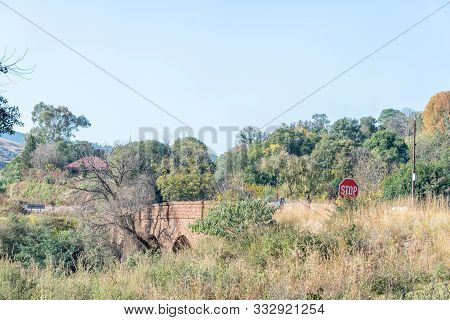 Pilgrims Rest, South Africa - May 21, 2019: The Historic Joubert Bridge, In Pilgrims Rest In Mpumala