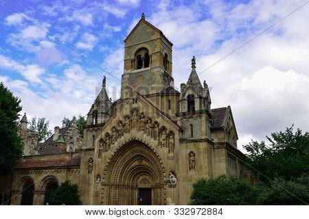 Chapel In The Castle Vajdahunyad, Budapest, Hungary