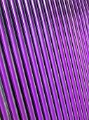 abstract violet glass tube heap, new solar panel details poster