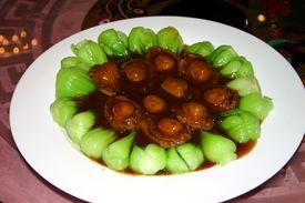 Chinese Abalone And Pak Choi