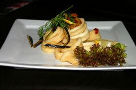 Squid And Seafood Tempura