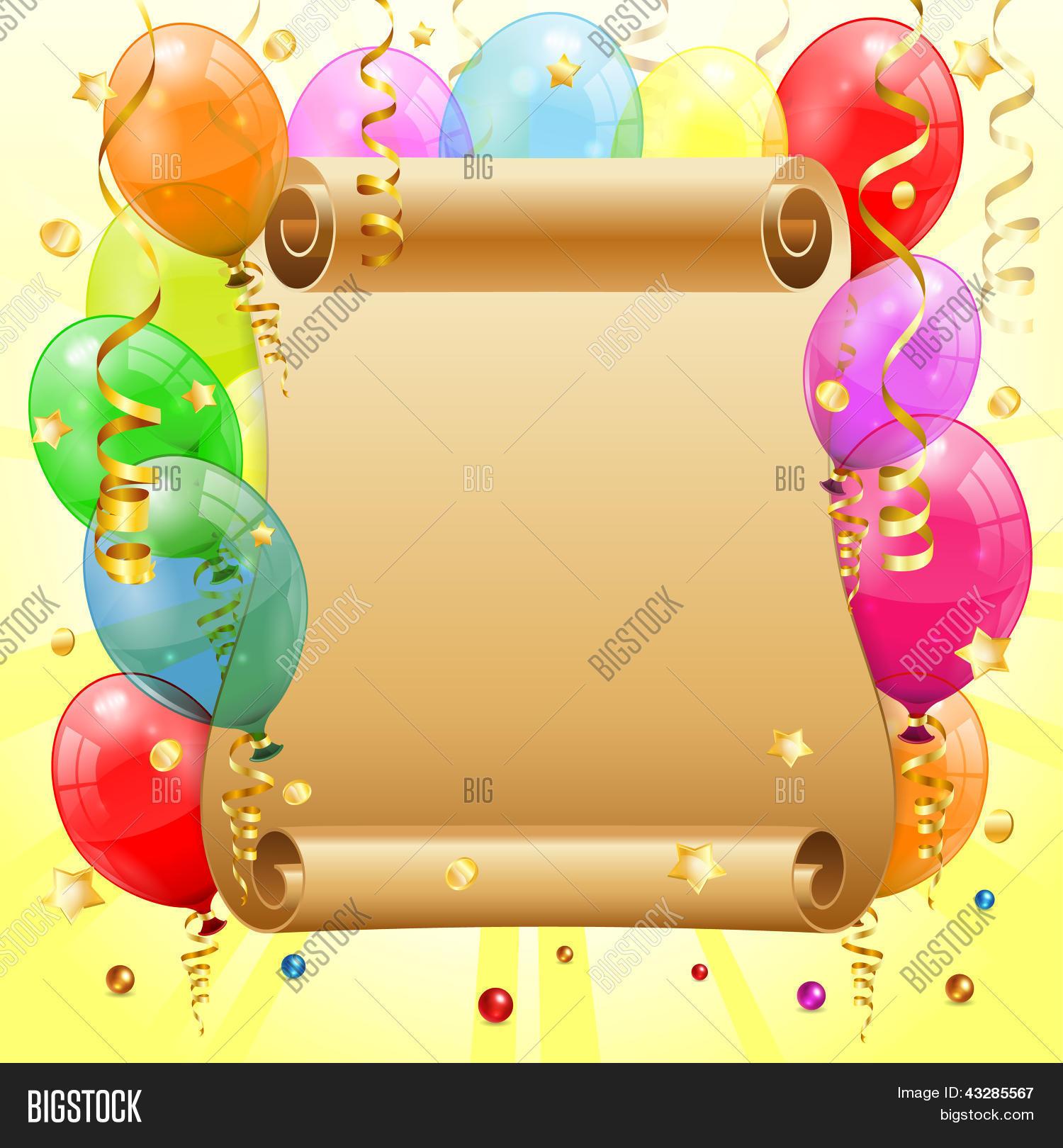 Verjaardag Vector En Foto Gratis Proefversie Bigstock