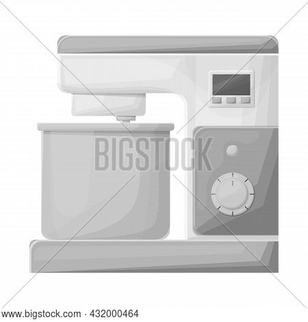 Vector Design Of Mixer And Appliance Sign. Graphic Of Mixer And Mix Stock Vector Illustration.