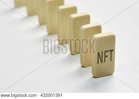 A Row Of Dominos And Nft. Effect Of Nft Technology On Financial Market, Impact Of Nft On Global Art