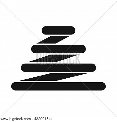 Vector Design Of Coil And Spiral Logo. Web Element Of Coil And Metal Stock Symbol For Web.
