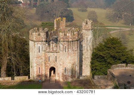 Dunster Castle Gatehouse Somerset