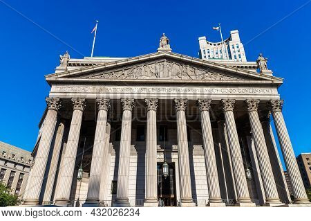 New York County Supreme Court In New York City, Ny, Usa