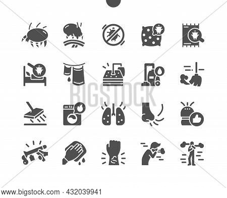 Dust Mites. Mattress Cleaning. Purified Air. Dust Mite In Bed. Insect, Disease, Tick, Parasite, Proh