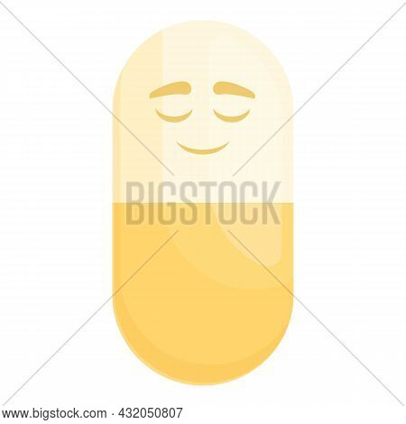 Placebo Pill Icon Cartoon Vector. Pharmacy Drug. Medical Prescription