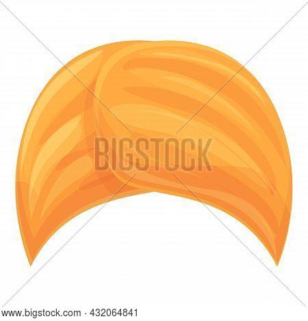 Indian Culture Turban Icon Cartoon Vector. Arab Hat. Sultan Man