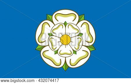 The Yorkshire Flag Is The Flag Of The Historic House Of York Carried In The 15th Century War Of The