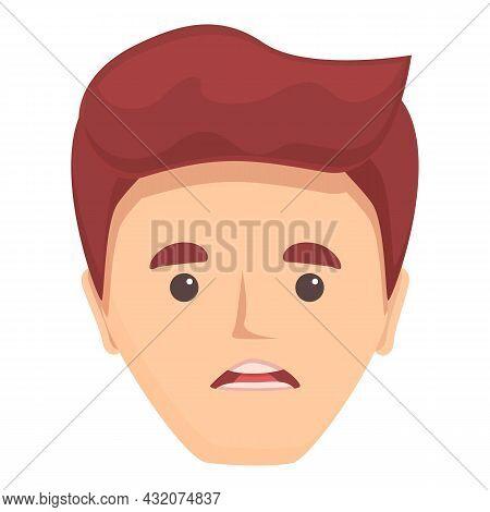 Mouth Animation Icon Cartoon Vector. Speech Character. Lip Sync