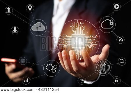 Touch The Future,interface Technology, The Future Of User Experience, New Technology Bigdata And Bus