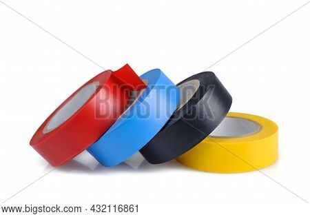 Electrical Tape Isolated On A White Background