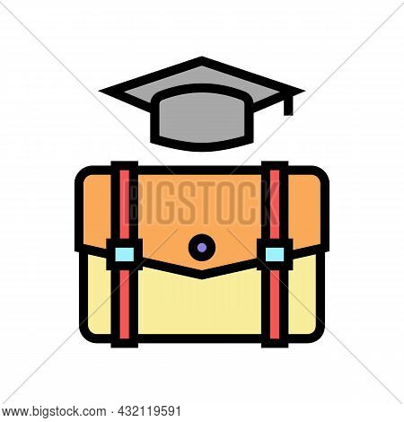 Educational Process Color Icon Vector. Educational Process Sign. Isolated Symbol Illustration