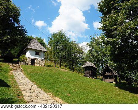 Trsic, Loznica, Serbia 05 September 2021. House Of Vuk Karadzic, A Reformer Of The Serbian Alphabet.
