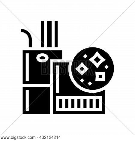 Indoor Air Quality Glyph Icon Vector. Indoor Air Quality Sign. Isolated Contour Symbol Black Illustr