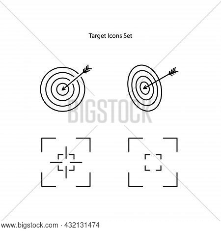 Target Icon. Marketing Target Icon Vector Target Icon. Image Target Icon. Color Target Icon. Abstrac