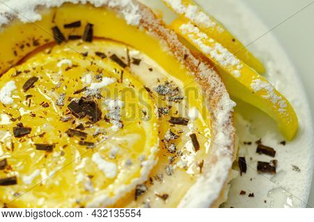 Tarte Au Citron Deliciously Rich And Zingy Lemon Creme Encased In Crumbly, Buttery Pastry Case Gentl