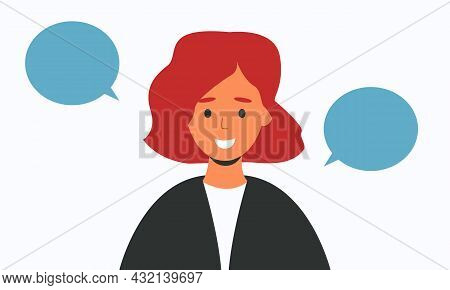 The Woman Smiles, A Monologue. An Air Bubble Of Conversation.