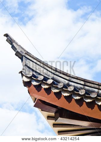 Chinese Roof Structure From Sirindhon Chinese Cultural Center, Mae Fah Luang University, Chiang Rai,