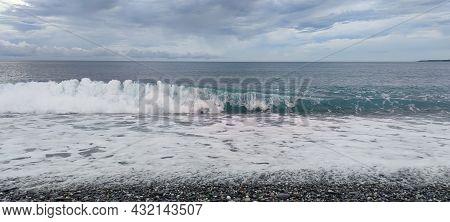 Hualien Mambo Beach, Taiwan - 30 Aug, 2021 : The Beach Hualien Mambo, Taiwan