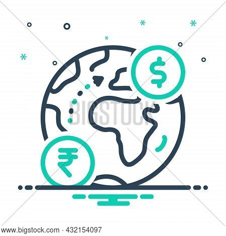 Mix Icon For Foreign Foreign-country International External Outside Abroad Overseas Exotic