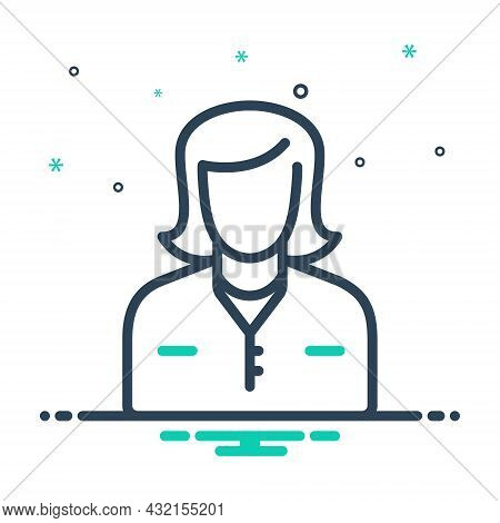 Mix Icon For Mom Mummy Female Parent Mother Mommy Lady