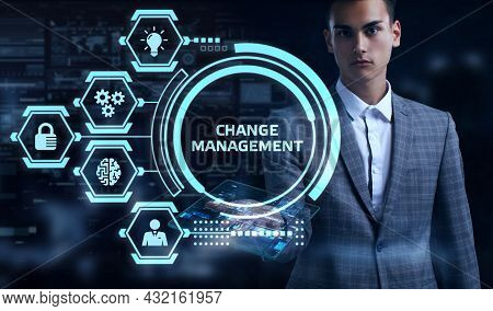 Change Management, Business Concept. Business, Technology, Internet And Network Concept.