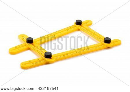 Multi High-precision Angle Ruler Carpentry, Joinery And Construction Folding Movable Turning Ruler.