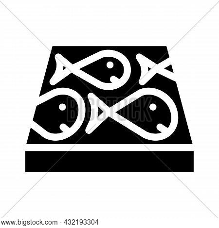 Children Play Room Floor Glyph Icon Vector. Children Play Room Floor Sign. Isolated Contour Symbol B