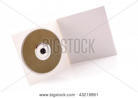 Photo of CD cardboard case