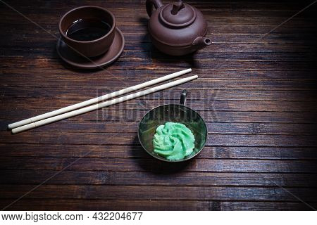 Asian Food Style. Details For Successful Photography