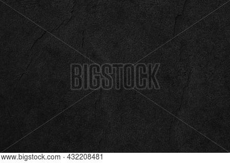 Dark Grey Black Slate Background Or Texture. Black Granite Slabs Background