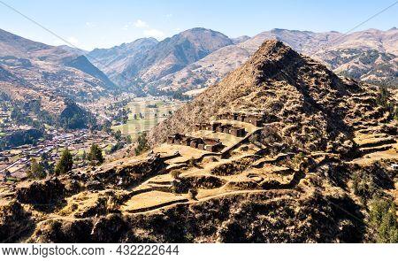 Machu Pitumarca, An Ancient Incas Town In The Cusco Region Of Peru