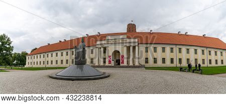 Panorama View Of The New Arsenal Of National Museum Of Lithuania