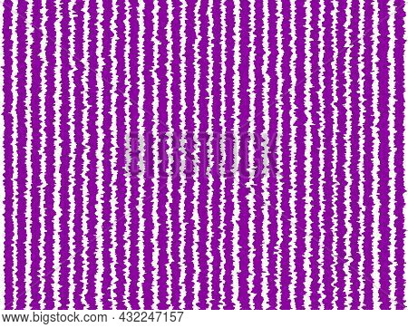 Purple White Violet Striped Background With Blur, Gradient And Grunge Texture. Striped Texture. Spac