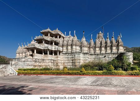 Jain Temple In Ranakpur,india