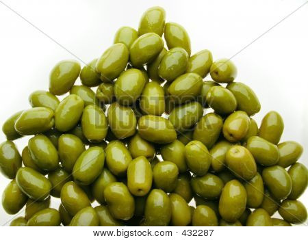 Delicious Group Of Olives