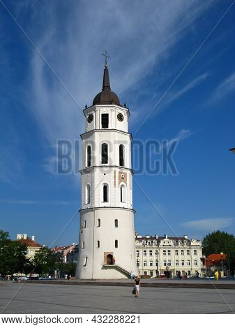 The Church In Vilnius City, Lithuania, Europe