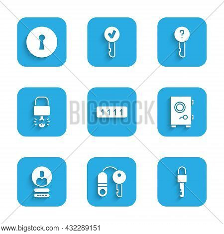 Set Password Protection, House With Key, Locked, Safe, Create Account Screen, Key Broke Inside Of Pa
