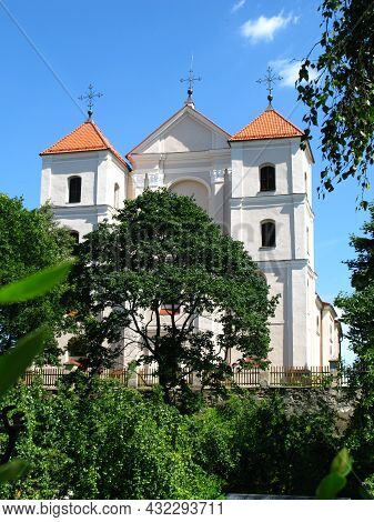 The Old Church In Trakai In Lithuania, Europe