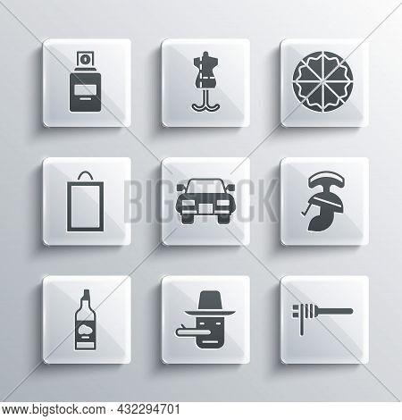 Set Pinocchio, Pasta Spaghetti, Roman Army Helmet, Car, Bottle Of Olive Oil, Picture, Perfume And Pi