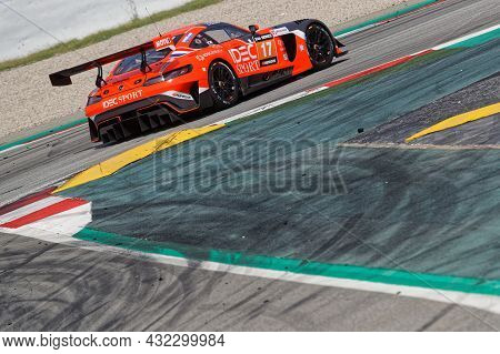 Barcelona, Spain, September 4, 2021 : Idec Sport Racing Finish 4th Place At Hankook 24 Hours Barcelo